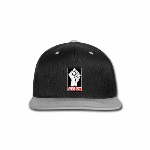 RESIST DISTRESSED SYLE - Snap-back Baseball Cap