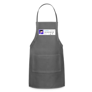 nice shirt m9 (woman's fitted) - Adjustable Apron
