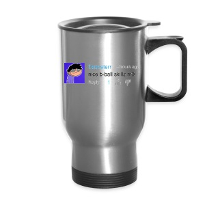 nice shirt m9 (woman's fitted) - Travel Mug