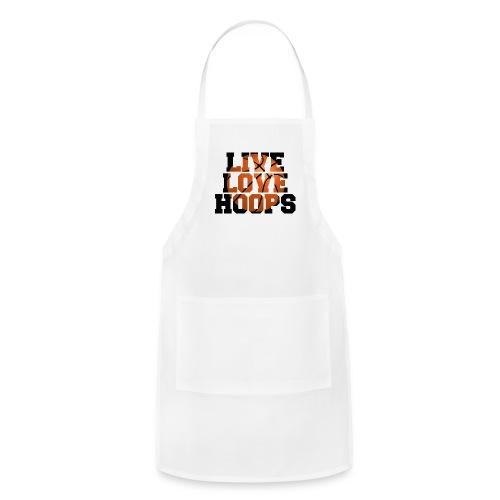 Live Love Hoops shirt - Adjustable Apron