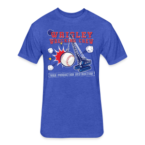 Wrigley Wrecking Crew - Fitted Cotton/Poly T-Shirt by Next Level