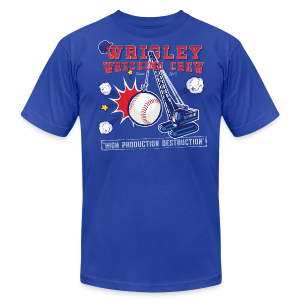 Wrigley Wrecking Crew - Men's T-Shirt by American Apparel
