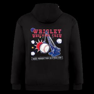 Wrigley Wrecking Crew - Men's Zip Hoodie