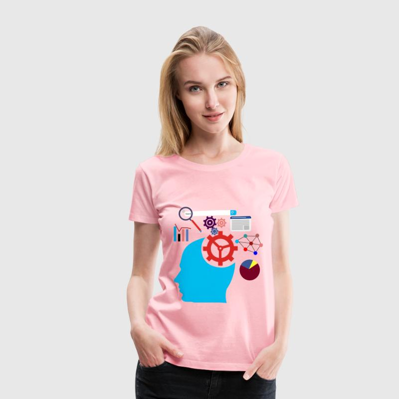 Digital Marketing - Women's Premium T-Shirt