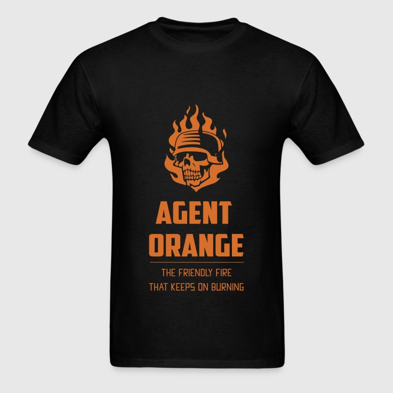 Agent Orange - Agent Orange the friendly fire that - Men's T-Shirt
