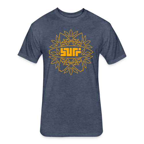 Surf - Fitted Cotton/Poly T-Shirt by Next Level