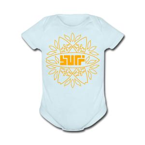 Surf - Short Sleeve Baby Bodysuit