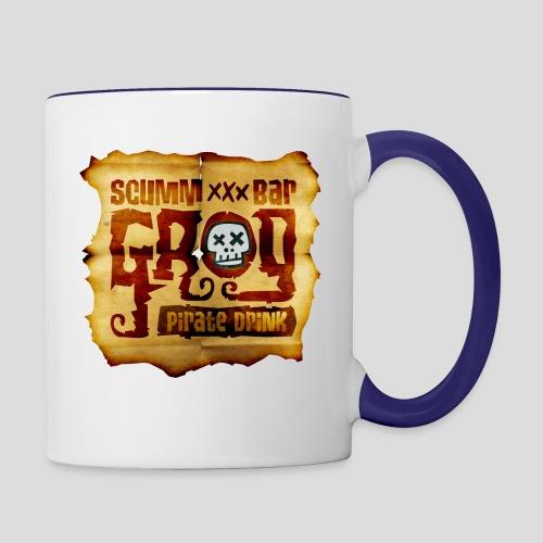 Monkey Island: Scumm Bar Grog - Contrast Coffee Mug