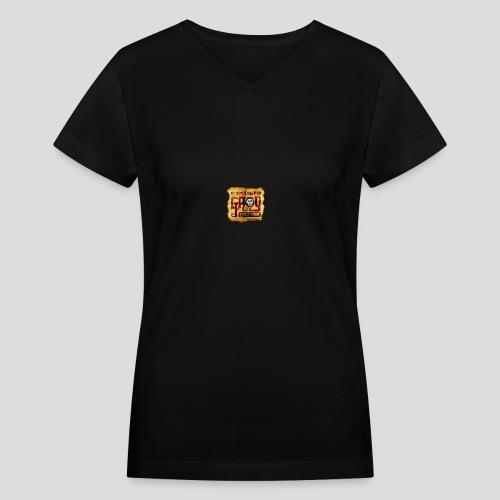Monkey Island: Scumm Bar Grog - Women's V-Neck T-Shirt