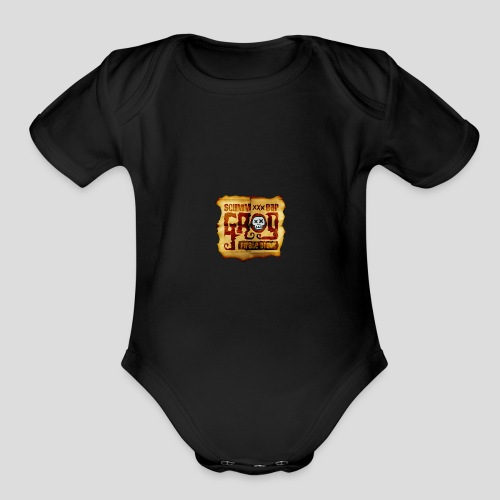 Monkey Island: Scumm Bar Grog - Organic Short Sleeve Baby Bodysuit