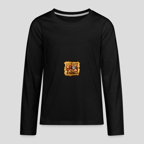 Monkey Island: Scumm Bar Grog - Kids' Premium Long Sleeve T-Shirt