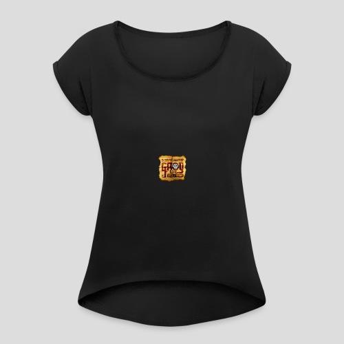Monkey Island: Scumm Bar Grog - Women's Roll Cuff T-Shirt
