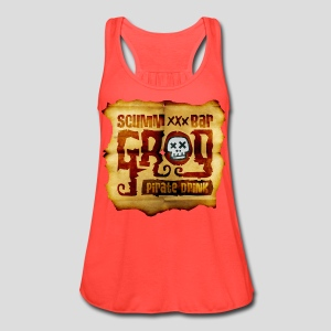 Monkey Island: Scumm Bar Grog - Women's Flowy Tank Top by Bella