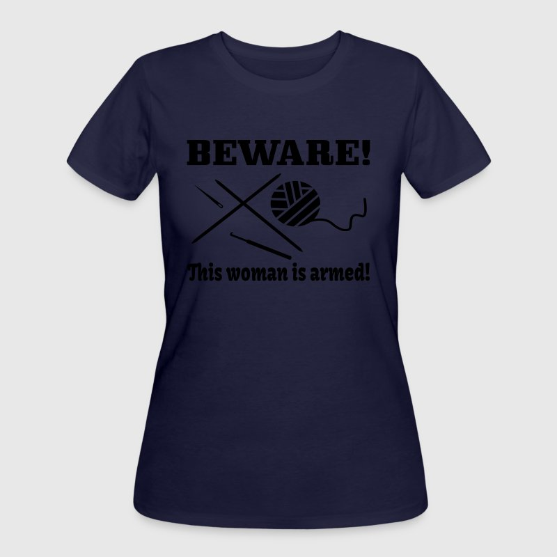 Knitting Crochet Sewing Sayings T-Shirts - Women's 50/50 T-Shirt