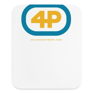 4Player Retro Logo (Color) - Women's T Shirt - Mouse pad Vertical