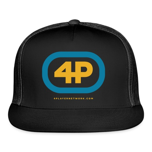 4Player Retro Logo (Color) - Women's T Shirt - Trucker Cap