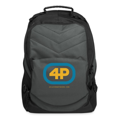 4Player Retro Logo (Color) - Women's T Shirt - Computer Backpack