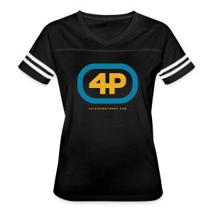4Player Retro Logo (Color) - Women's T Shirt - Women's Vintage Sport T-Shirt