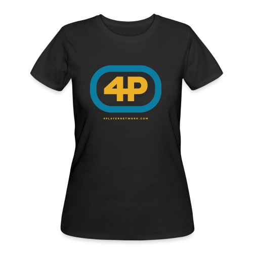 4Player Retro Logo (Color) - Women's T Shirt - Women's 50/50 T-Shirt