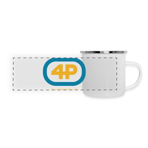 4Player Retro Logo (Color) - Women's T Shirt - Panoramic Camper Mug