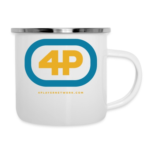 4Player Retro Logo (Color) - Women's T Shirt - Camper Mug