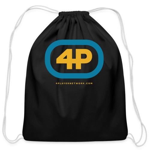 4Player Retro Logo (Color) - Women's T Shirt - Cotton Drawstring Bag