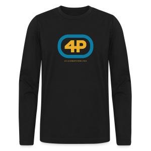 4Player Retro Logo (Color) - Women's T Shirt - Men's Long Sleeve T-Shirt by Next Level