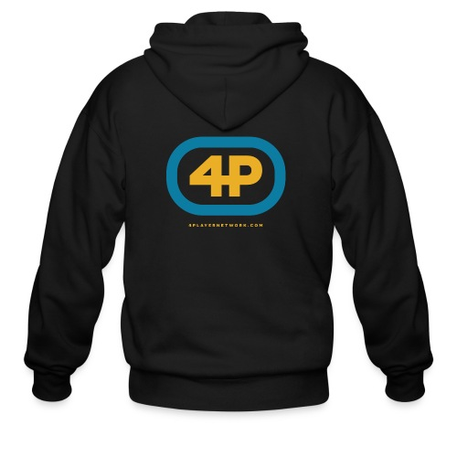 4Player Retro Logo (Color) - Women's T Shirt - Men's Zip Hoodie