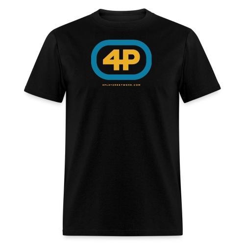 4Player Retro Logo (Color) - Women's T Shirt - Men's T-Shirt