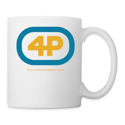 4Player Retro Logo (Color) - Women's T Shirt - Coffee/Tea Mug