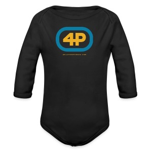 4Player Retro Logo (Color) - Women's T Shirt - Long Sleeve Baby Bodysuit