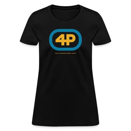 4Player Retro Logo (Color) - Women's T Shirt - Women's T-Shirt