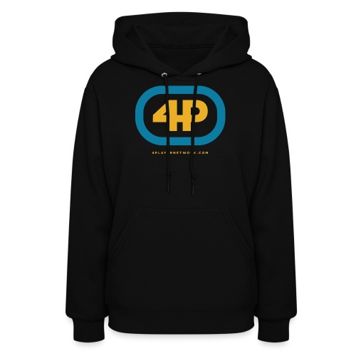4Player Retro Logo (Color) - Women's T Shirt - Women's Hoodie