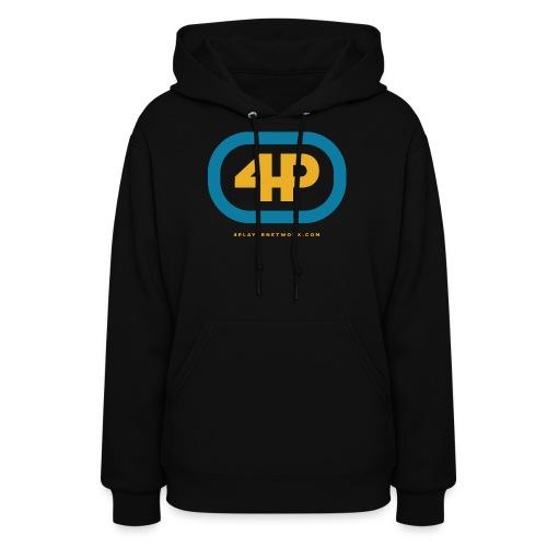 4Player Retro Logo (Color) - Women's T Shirt - Women's Hoodie