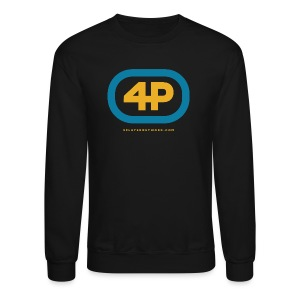 4Player Retro Logo (Color) - Women's T Shirt - Crewneck Sweatshirt