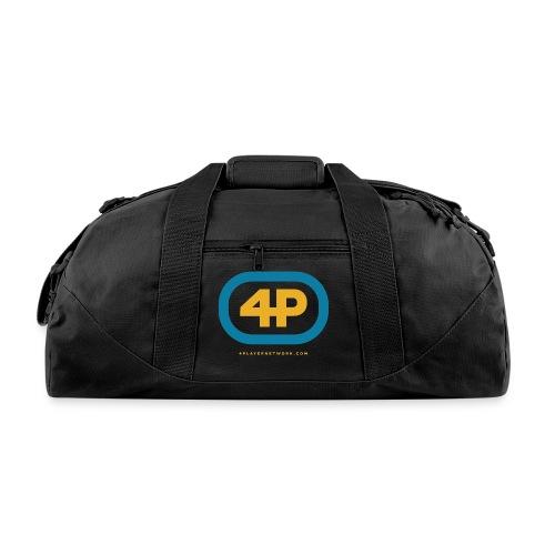 4Player Retro Logo (Color) - Women's T Shirt - Duffel Bag