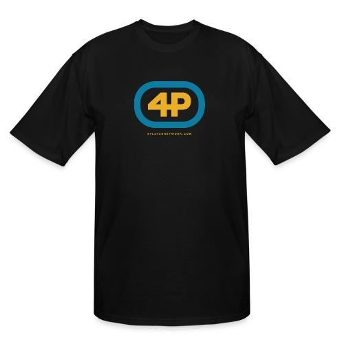 4Player Retro Logo (Color) - Women's T Shirt - Men's Tall T-Shirt
