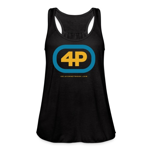 4Player Retro Logo (Color) - Women's T Shirt - Women's Flowy Tank Top by Bella