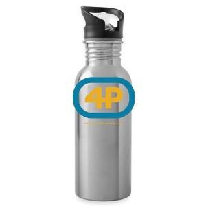 4Player Retro Logo (Color) - Women's T Shirt - Water Bottle