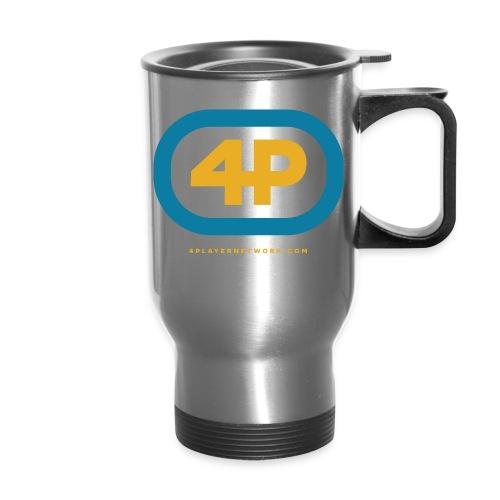 4Player Retro Logo (Color) - Women's T Shirt - Travel Mug