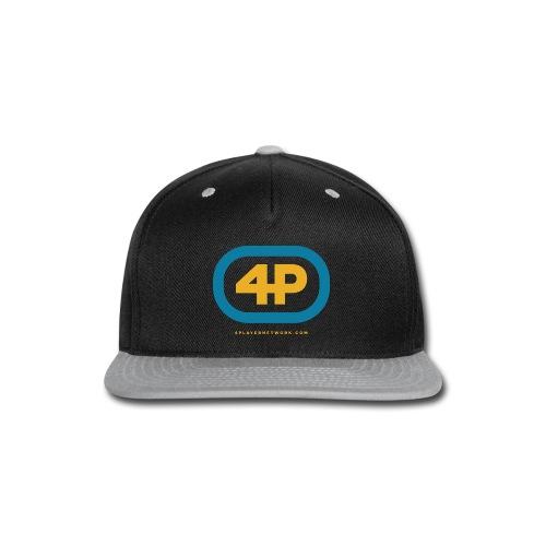 4Player Retro Logo (Color) - Women's T Shirt - Snap-back Baseball Cap