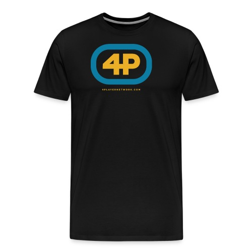 4Player Retro Logo (Color) - Women's T Shirt - Men's Premium T-Shirt