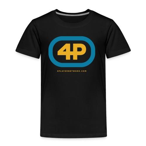 4Player Retro Logo (Color) - Women's T Shirt - Toddler Premium T-Shirt