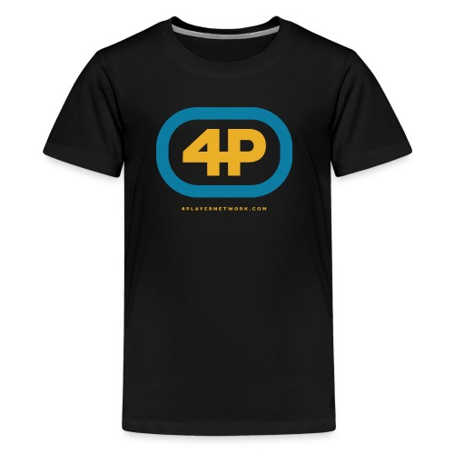 4Player Retro Logo (Color) - Women's T Shirt - Kids' Premium T-Shirt