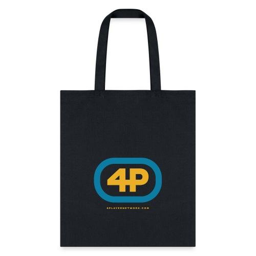 4Player Retro Logo (Color) - Women's T Shirt - Tote Bag