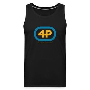 4Player Retro Logo (Color) - Women's T Shirt - Men's Premium Tank