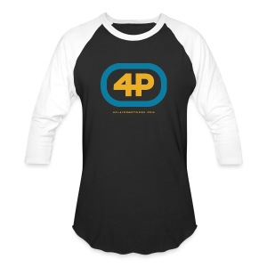 4Player Retro Logo (Color) - Women's T Shirt - Baseball T-Shirt