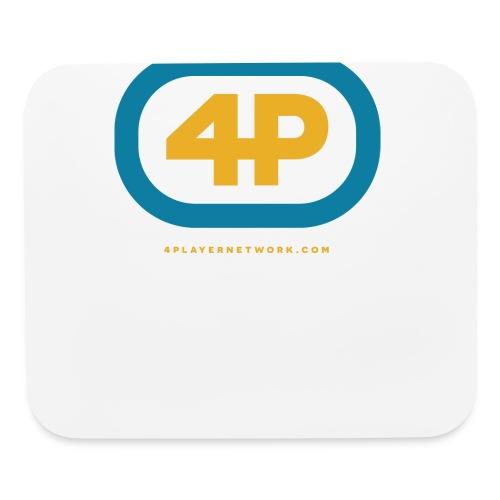 4Player Retro Logo (Color) - Women's T Shirt - Mouse pad Horizontal