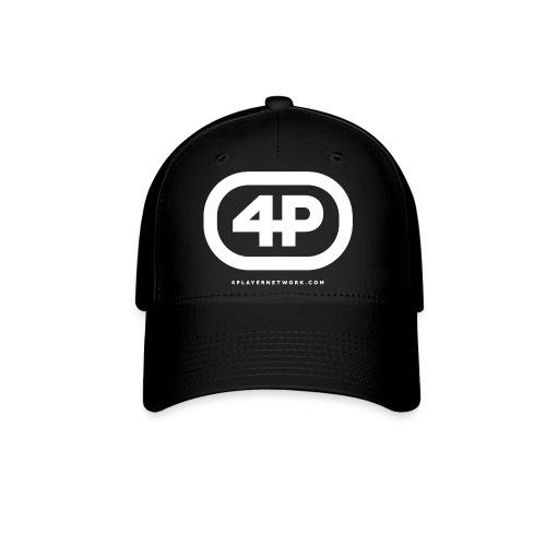 4Player Retro Logo (Solid White) - Women's T Shirt - Baseball Cap