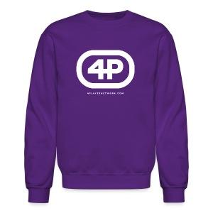 4Player Retro Logo (Solid White) - Women's T Shirt - Crewneck Sweatshirt